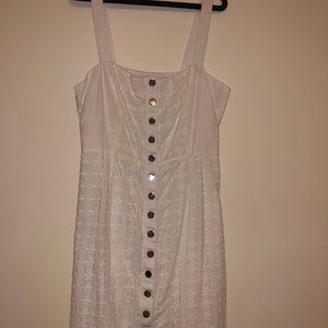 Buttoned for love & lemons dress